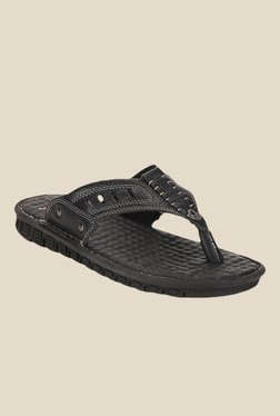 Lee Cooper Black Thong Sandals