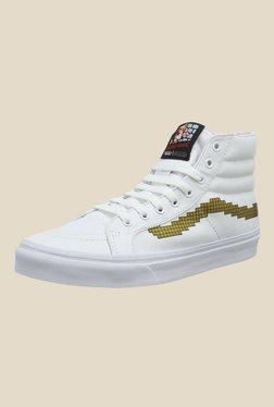 Vans SK8-Hi Slim White Sneakers