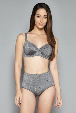 Wunderlove by Westside Grey Wired Bra