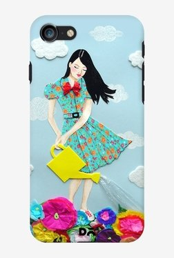 DailyObjects Girl In Flowerland Case for iPhone 7