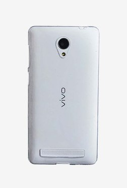 Plastron Soft Silicone Back Case for Vivo Y28  Transparent  available at TatacliQ for Rs.249