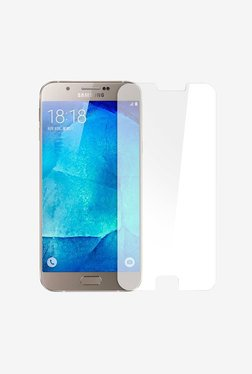 Plastron  Curvy Border Tempered Glass for Samsung A8