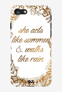 DailyObjects She Acts Like Summer Case for iPhone 7