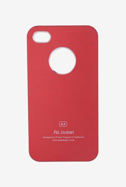 Plastron Air Jacket Back Case For IPhone 4/4S (Red)