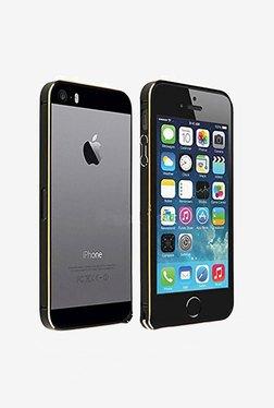 Plastron Arc Slim Metal Bumper Case For IPhone 5/5S (Black)
