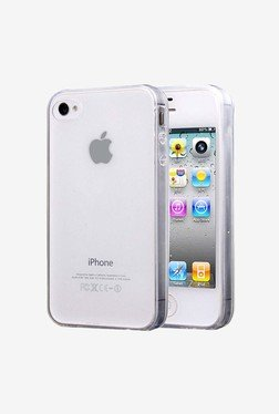 Plastron Back Case Cover For Apple IPhone 4/4S (Transparent)