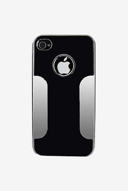 Plastron Hard Cover Case For Apple IPhone 4/4s (Black)
