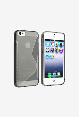 Plastron Back Case Cover For Apple IPhone 5 (Black)