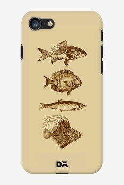 DailyObjects Fish Antiqued Case For IPhone 7
