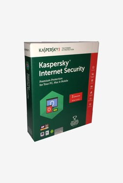 Kaspersky Internet Security Latest Version (3 PC/3 Years)