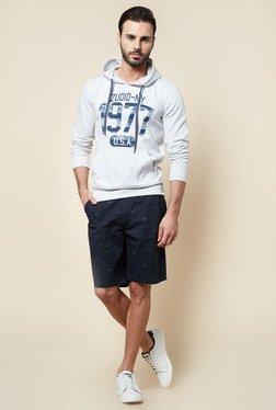 Zudio Ecru Printed Sweatshirt