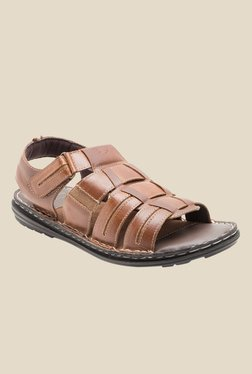 Red Tape Brown Fisherman Sandals