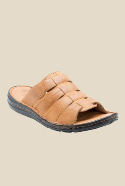Red Tape Tan Casual Sandals