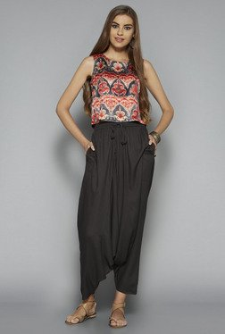 Bombay Paisley by Westside Purple Printed Crop Top