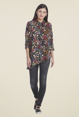 Only Multicolor Floral Print Shirt