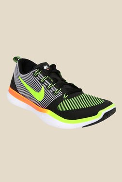 Nike Free Train Versatility Black & Green Training Shoes