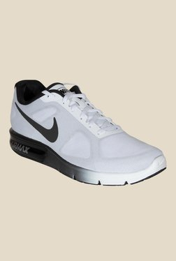Nike Air Max Sequent Grey & Black Running Shoes