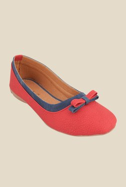 Solester Emma Red Flat Ballets