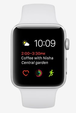 Apple Series 1 Sport 38 MM Smart Watch (Silver) TATA CLiQ Rs. 20994.00