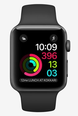 Apple Series 1 Sport 42 MM Smart Watch (Space Grey) TATA CLiQ Rs. 22490.00