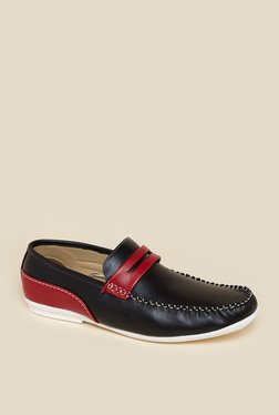 Zudio Black Loafers
