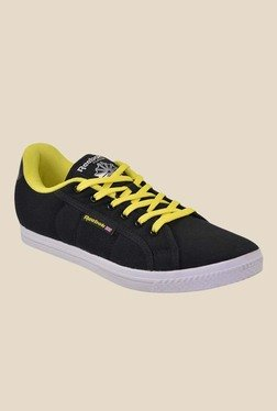 Reebok On Court V Black & Yellow Sneakers