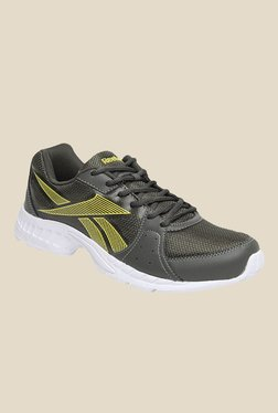 Reebok Top Speed Grey   Yellow Running Shoes 13366ad6c