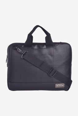 Aerollit Altmont 14 Inch Laptop Messenger Bag (Black)