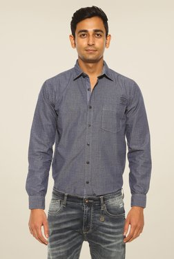 Pepe Jeans Blue Printed Shirt
