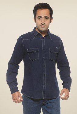 Pepe Jeans Navy Solid Shirt