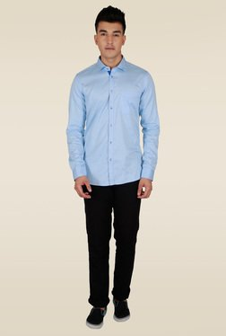 Lawman Sky Blue Full Sleeve Casual Shirt