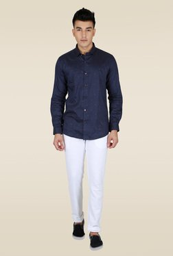 Lawman Navy Party Shirt
