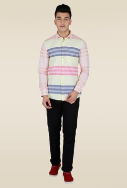 Lawman Multicolor Stripe Full Sleeve Shirt