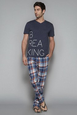 Bodybasics by Westside Blue Checks Pyjama