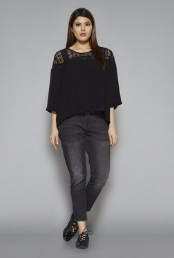 Sassy Soda by Westside Black Berry Blouse