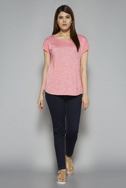Gia by Westside Pink Gail Top