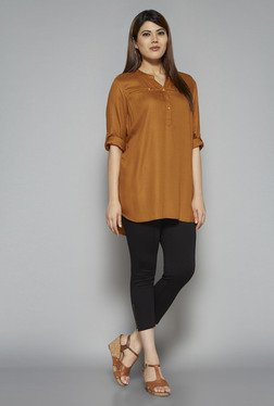 Gia by Westside Tan Oscar Blouse