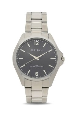 Titan NH9439SM01A Formal Steel Analog Watch For Men
