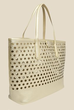 Covo Gold Tote Bag with Sling Bag