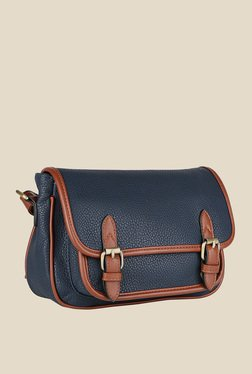 Lino Perros Blue Buckle Messenger Bag - Mp000000000616907