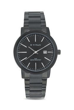 Titan 9440NM01J Formal Steel Analog Watch For Men