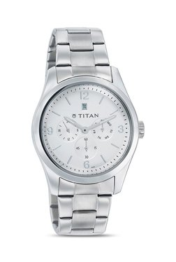 Titan 9493SM01J Formal Steel Analog Watch For Men