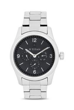 Titan 9493SM02J Formal Steel Analog Watch For Men