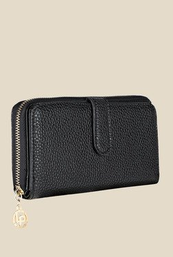 Lino Perros Black Solid Wallet