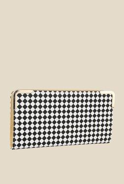 Lino Perros Black & White Plaid Wallet