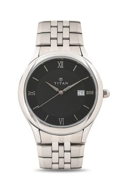 Titan NH1494SM02 Formal Steel Analog Watch For Men