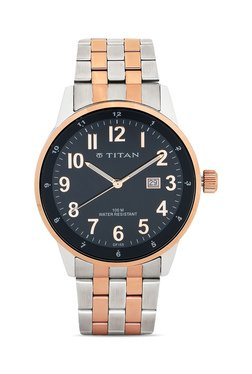 Titan NH9441KM01A Formal Steel Analog Watch For Men