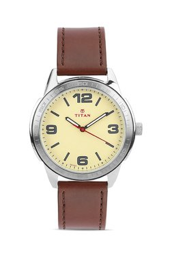 Titan 1585SL06C Analog Watch for Men