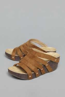 Westside Tan Wedge Sandals