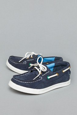Westside Navy Lace Up Shoes
